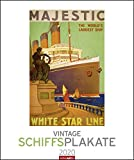 Vintage Schiffsplakate. Wandkalender 2020. Monatskalendarium. Spiralbindung. Format 46 x 55 cm