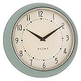 Plint Retro Wanduhr Uhr Küchenuhr Dänisches Design Wall Clock Mint