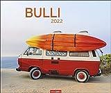 Bulli Edition Kalender 2022 - kultiges Retro-Feeling - Bildkalender mit Monatskalendarium - 12 Farbfotos - 55 x 46 cm