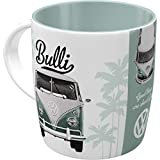 Nostalgic-Art - Volkswagen Retro Kaffee-Becher - VW Bulli T1 - Good things are ahead of you, Große Lizenz-Tasse, Vintage VW Bus Geschenk-Idee, 330 ml