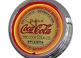 Neonuhr Atlanta Coca-Cola Wanduhr Deko-Uhr Leuchtuhr USA 50's Style Retro Uhr