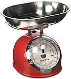 G3Ferrari G2000302 Mechanische Küchenwaage, 5 kg, Rot