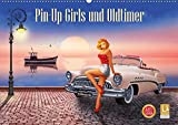 Pin-Up Girls und Oldtimer by Mausopardia (Wandkalender 2021 DIN A2 quer)