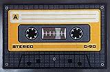 empireposter Tape - orange - Fussmatte, Größe: 60 x 40 cm, Material Polypropylen