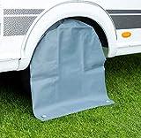 Cartrend 10685 Caravan Radschutzhülle XL Radschutz Reifenabdeckung Reifentasche Schutzhülle wasserdicht, für 15 bis 17 Zoll Reifengröße