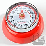 Zassenhaus 72327 Küchentimer - Kitchentimer - Kurzzeitmesser - Eieruhr - Timer Speed mit Magnet - Retro-Look Ø 7 cm Höhe 3 cm