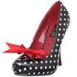 Pinup Couture Cutiepie-06 - Sexy High Heels Retro Mini-Plateau Pumps 35-42, Größe:EU-38/US-8/UK-5