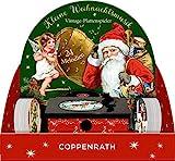 Sound-Adventskalender – Kleine Weihnachtsmusik: Vintage-Plattenspieler mit 24 Melodien
