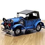 WANGCH Classic Car Druckguss Auto Retro Classic Car Metall Auto Dekoration Retro Zinn Vintage Auto Toy Crafts Kinderheim Dekoration Zubehör