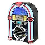 Silva Schneider Jukebox 66 UKW CD-Radio CD, UKW Schwarz, Weiß, Rot
