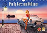 Pin-Up Girls und Oldtimer by Mausopardia (Wandkalender 2021 DIN A4 quer)