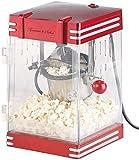 Rosenstein & Söhne Popcornmachine: Retro-Popcorn-Maschine'Theater' im 50er-Jahre-Look, 230 Watt (Popcorn Automaten)