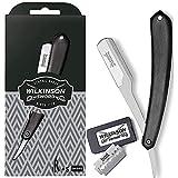 Wilkinson Sword Vintage Rasiermesser inkl. 5 Doppelklingen für die klassischste und präziseste Rasur - austauschbare Klingen