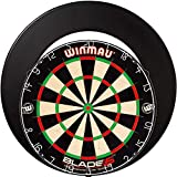 Winmau Blade 5 + Dartboard Surround Schwarz