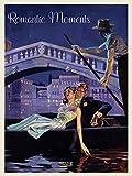 Romantic Moments 2021: Großer Kunstkalender. Wandkalender mit historischen Vintage Plakaten. Kunst Gallery Format: 48x64 cm