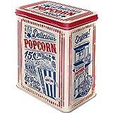 Nostalgic-Art 30144 Retro Vorratsdose L Popcorn – Geschenk-Idee für USA-Fans, Große Kaffee-Dose aus Blech, 3 l