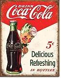 The Finest Website Inc. Blechschild Coca Cola Coke Sprite Boy 5 Cents 40,6 x 31,8 cm (D2168)