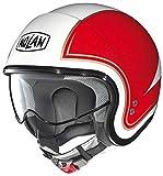 Nolan N21 Tricolore Demi Jet Helm M (57/58) weiß grün rot