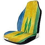 Alice Eva Autositzbezug Retro Vincent Flag Bucket Seat Protector Universal Vordersitzbezug Vordersitzbezug