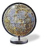 Columbus Leuchtglobus Der Mond: 26 cm Durchmesser silbermatter Kunststofffuß, transparenter Vollmeridian, beidseitig gradiert (College Line by ... pädagogisch und informativ wertvoll)