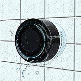 Bluetooth-Duschlautsprecher, Haissky Portable Bluetooth Lautsprecher tragbarer Waterproof Wireless Speaker Wasserdicht mit Saugnapf,Freisprecheinrichtung, integriertes Mikrofon