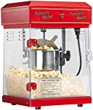 Rosenstein & Söhne Popcornmaschine: Profi-Retro-Popcorn-Maschine'Cinema' mit Edelstahl-Topf im 50er-Stil (Popcornmaschine Profi)