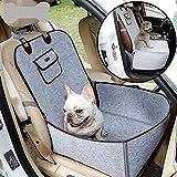 DanLink Kreative Haustier Auto Sitzbezug Welpen Korb Pet Carrier Protector Heimtierbedarf grau 45x45x60CM