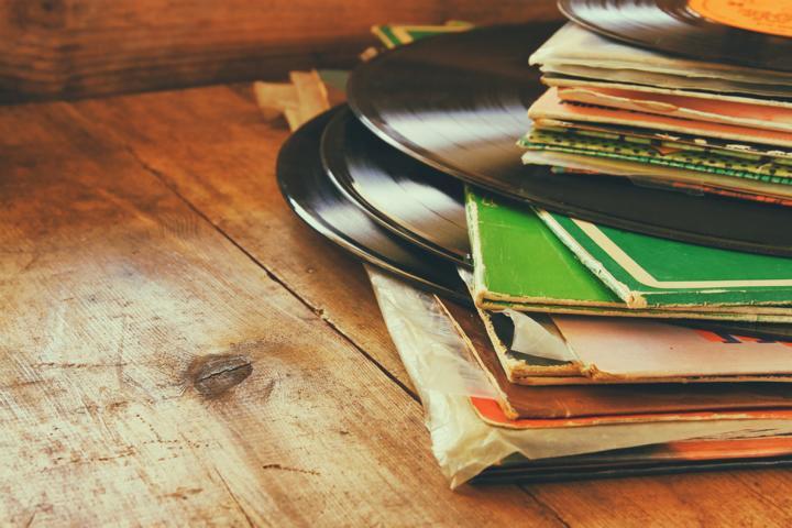 Schallplatten - alt