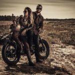 Retro Motorradhelm vintage