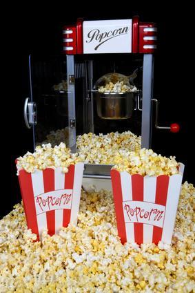 Retro Popcorn Maschine