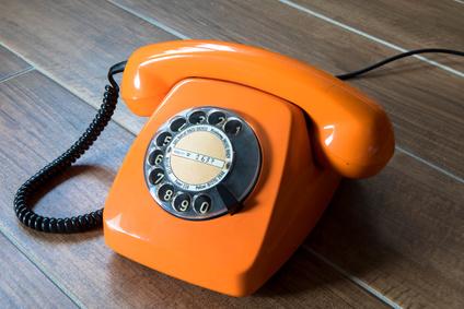 Telefon 70er Jahre, Retro, Vintage